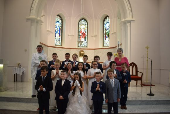 Congrats to all who made their First Holy Communion last week